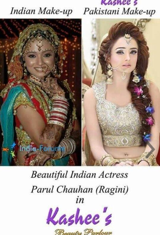 parul chauhan kashee s bridal makeup pinterest