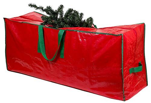 Christmas Tree Storage Bag Stores A 7 5 Foot Disassembled Artificial Xmas Holiday Tree Durable Waterproof Material To Protect Against Dust Insects And Moisture Zippered Bag With Carry Handles Christmas Tree