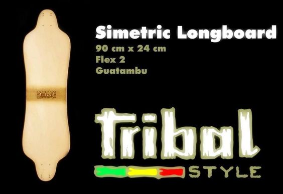 Tribal Style - Simetric Longboard