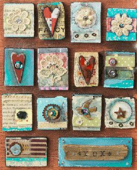 Mixed media in color and collage art on pinterest for Color collage ideas