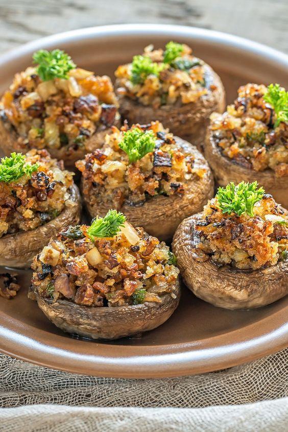 recipe cheese stuffed mushrooms cream stuffed mushroom recipes bread ...
