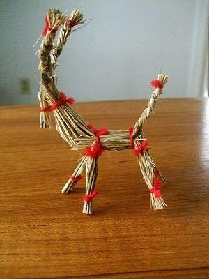 Make a Grass Reindeer