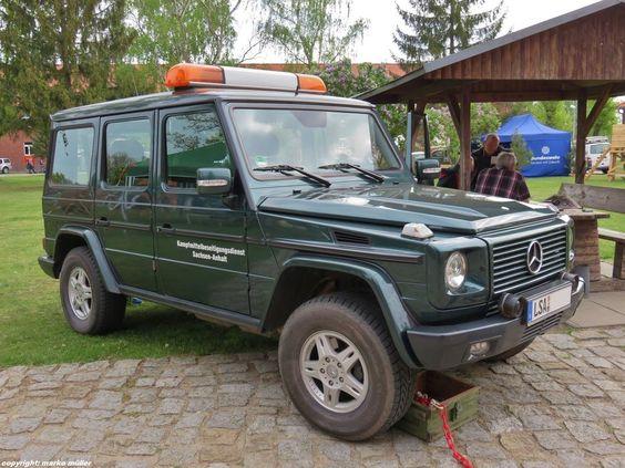 Mercedes Benz G, Einsatzfahrzeug des Kampfmittelbeseitigungsdienstes Sachsen-Anhalt.