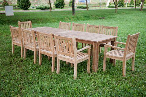 Gartentisch 300cm Mit 10 Beaufort Stuhle Gartentisch Outdoor