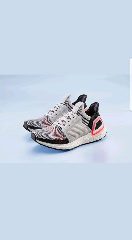 Adidas Ultra Boost 19 Size 13 Active Laser Red 2019 New