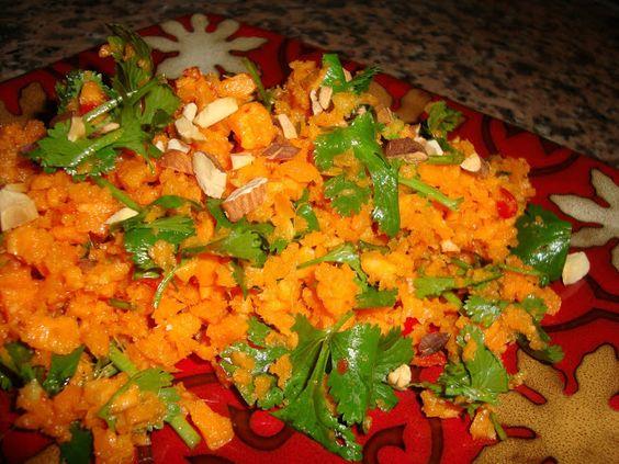 O Tempero da Nesita: Salada de Cenoura Marroquina