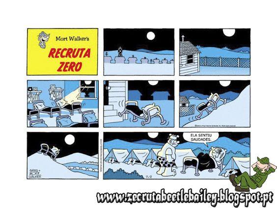Recruta Zero: Ela sentiu saudades!