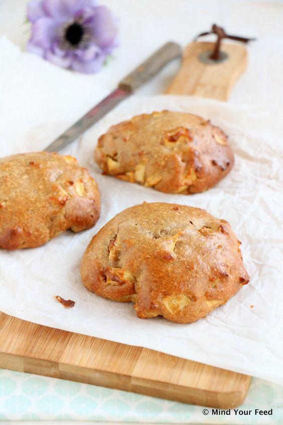 Appel kaneel broodjes - Mind Your Feed