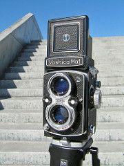 The Yashica-Mat 124, 6×6 TLR, 80-mm lenses