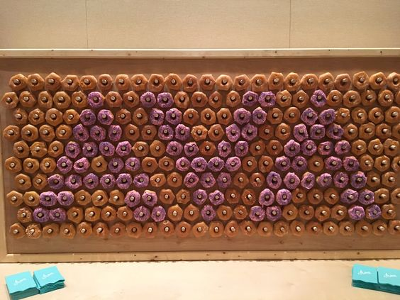 Rent the doughnut wall for your next event, whose gonna say no to a doughnut? So fun!!!