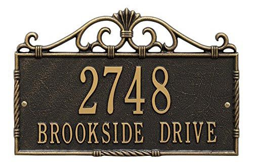 Top 9 Best Home Sign Address Plaques In