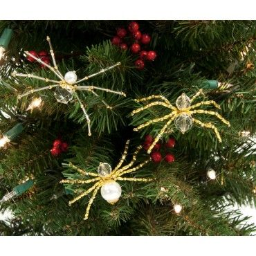 christmas spider beaded ornament in germany spiders escaped to the attic when mother was. Black Bedroom Furniture Sets. Home Design Ideas
