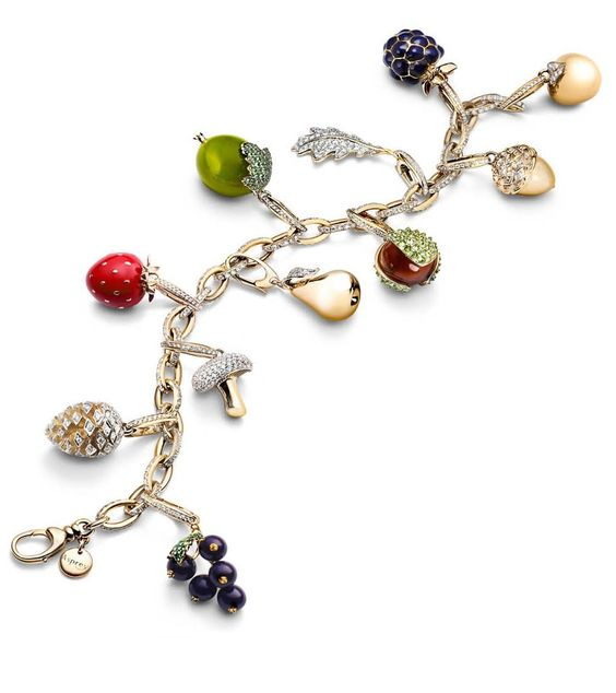 asprey woodland collection charm bracelet beautiful