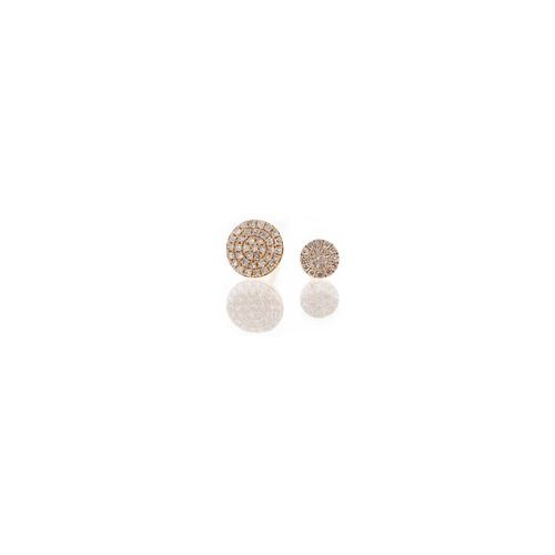Our best selling Diamond Disc Earrings now comes in a petite size!