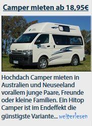 Camper Oase - Neuseeland das perfekte Reiseland