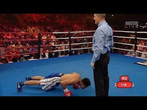 Boxers Bizarre Antics Get Him Knocked Out Boxing History Boxer Knock Knock