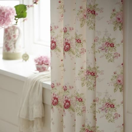 curtains and pink on pinterest. Black Bedroom Furniture Sets. Home Design Ideas