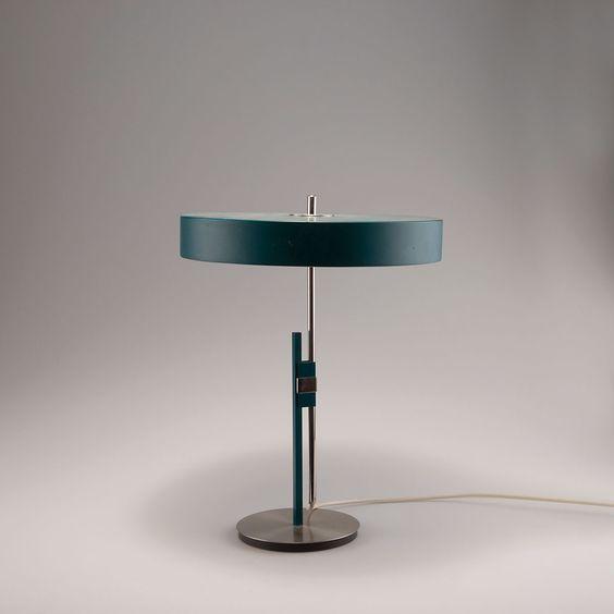 Lot 110A1206 - Schreibtischleuchte, 1960er Jahre Kaiser & Co., Neheim-Hüsten (zugeschrieben) -> Auction 110A - Text: english Version