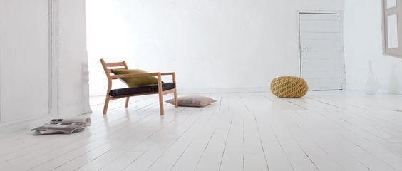 Peindre un parquet stratifi ou en bois verni sans poncer r novation - Peindre un parquet stratifie ...