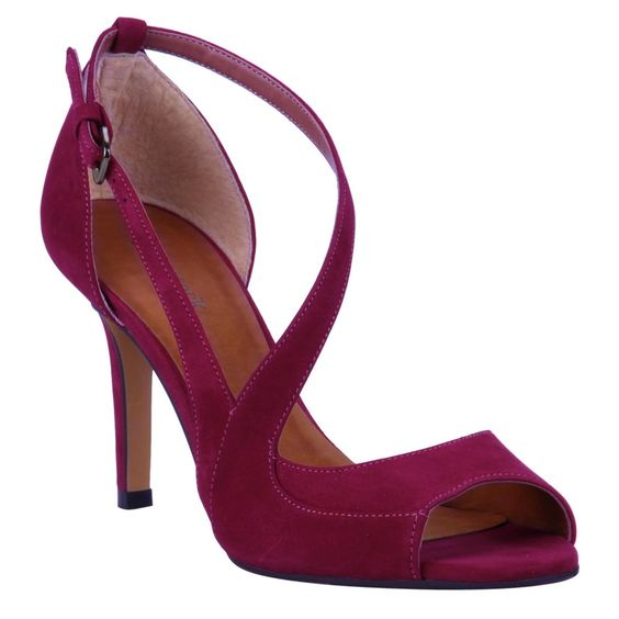 Sandália Cereja de Nobuck - Shoestock