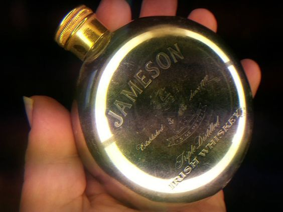 Vintage/Antique Gentleman Flask Jameson Irish Whiskey Listing in the Alcohol,Food & Drink,Advertising,Collectibles Category on eBid United States