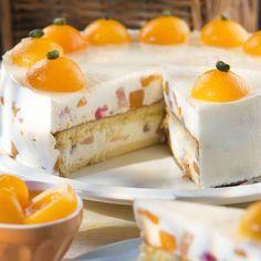 Fruchtige Joghurt-Sahne-Torte