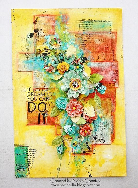 Video Tutorial by Guest Designer Nadia - Faber Castell: Design Memory Craft: