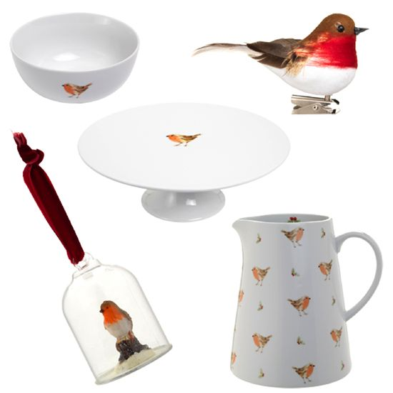 Nothing says winter more than the humble robin. Bring the delicate little birds into your home with @sainsburys pretty range of tableware and accessories.
