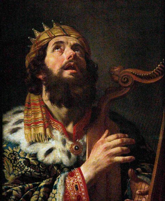 King David - Psalm 150:3 Praise him with the stringed instrument and the harp. .