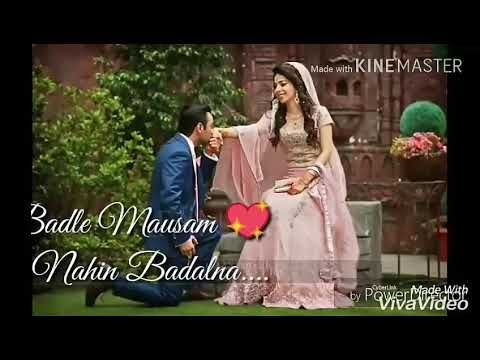 Jeena Sirf Mere Liye Heart Touching Awesome Whatsapp Video Status Youtube Download Video Romantic Songs Youtube