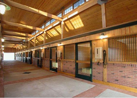Kel-Chris farm | Horse barn interior By gh2equine.com I ...
