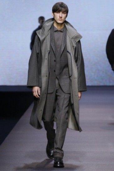 Completo grigio e cappotto