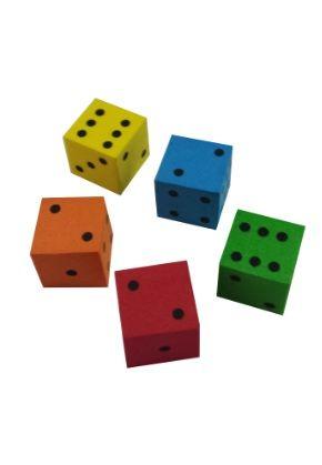 16mm Foam Dice  #16mm #foam #dice #differentcolors #squishy #funtoplaywith #gamble #gambling #lasvegas #thestrip #betyourodds
