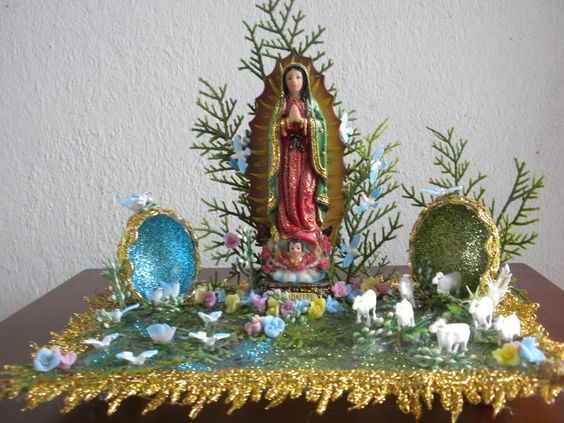 Decoracion De Altar De Virgen De Urkupi?a ~ explore altar virgen altars and more virgen de guadalupe altars