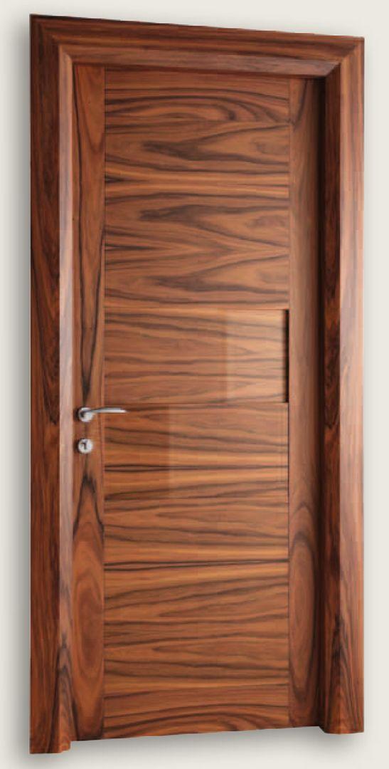 Giò Pomodoro 1926/2/QQ Natural Rosewood Giò Pomodoro© Modern Interior Doors | Italian Luxury Interior Doors | New Design Porte Metropolis