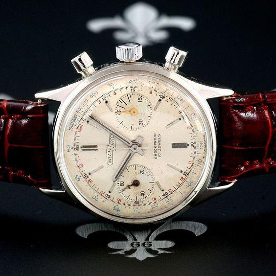 Charles armand nicolet tramelan swiss vintage chronograph watch landeron cal 248 chronograph for Armand nicolet watches