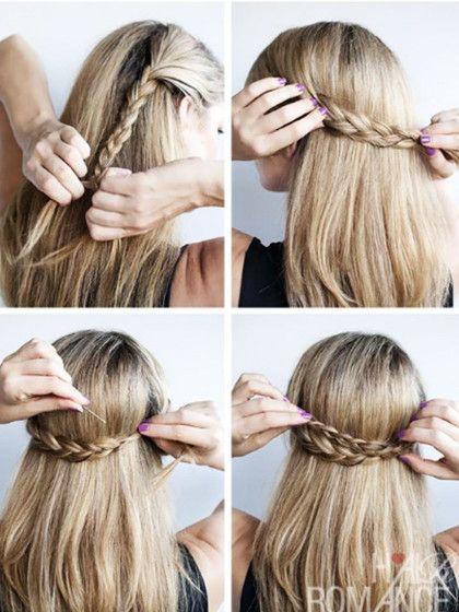 Wir Zeigen Euch 3 Super Einfache Schnelle Wiesn Frisuren Von Pinterest Die Jeder In 5 Minuten Selbs Wiesn Frisur Oktoberfest Frisur Flechtfrisur Lange Haare