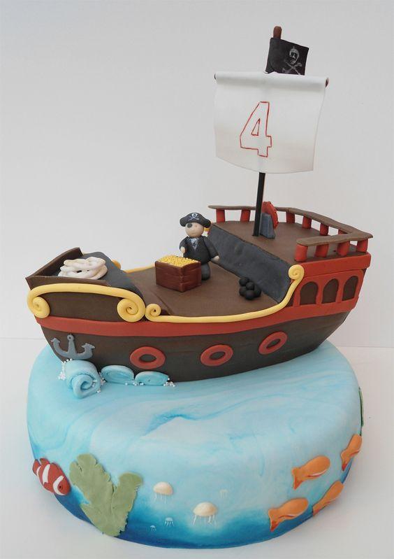 Torta Pirata Imagen torta