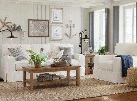 16 Neutral Coastal Living Room Designs Decor Ideas Coastal