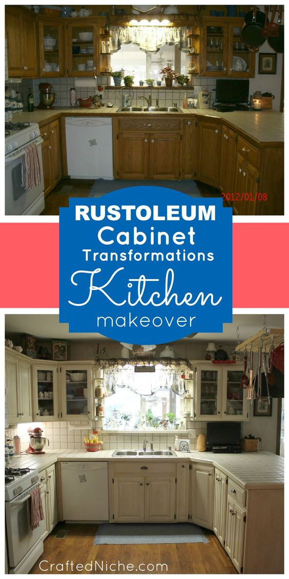 Check Out This Kitchen Makeover Before After With Rust