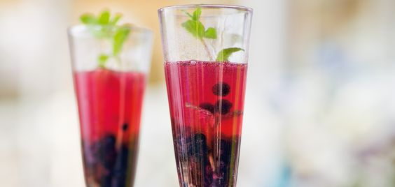 Blueberry Champagne