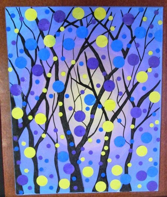 Voici les arbres que les enfants ont réalisé pour l'exposition CANOU'ART ce week-end. Des arbres en puzzles, en capsules, en coeurs, en...