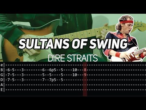 Dire Straits Sultans Of Swing Solos Guitar Lesson With Tab Youtube Sultans Of Swing Guitar Lessons Dire Straits