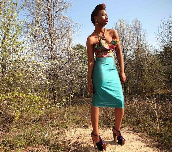 Strapless pencil dress SIZE 2 by solomek on Etsy