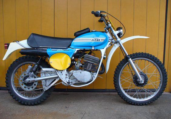 ktm gs 125 1975 favourite bikes pinterest. Black Bedroom Furniture Sets. Home Design Ideas