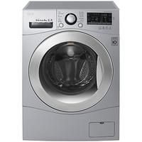LG #FH4A8TDN4 #Freestanding #Washing #Machine, #8kg #Load, #A+++ #Energy #Rating, #1400rpm #Spin, #Silver