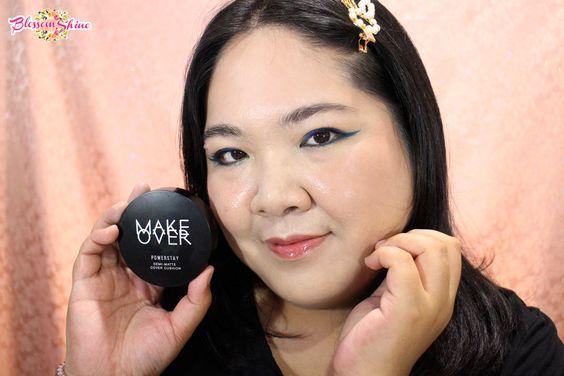 Final Look makeup dengan menggunakan MO Demi-Matte Cushion