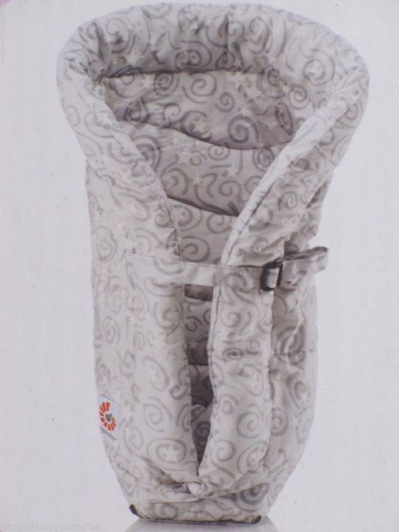 ERGObaby Original Infant Insert, Galaxy Grey for ERGO BABY Carriers NEW IN BOX #ERGObaby