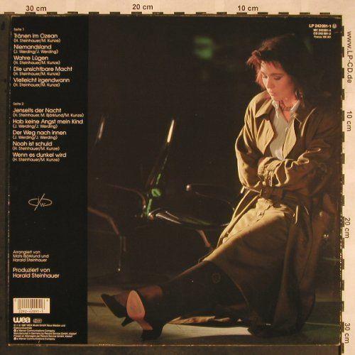 Werding,Juliane: Jenseits der Nacht, WEA(242 091-1), D, 1987 - LP - X1275 - 5,00 Euro