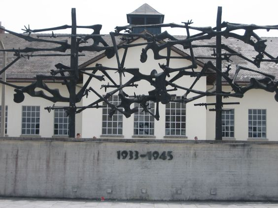 Unfortunately I was a kid and had no choice but to see this monstrous place!  Dachau Concentration Camp Germany.